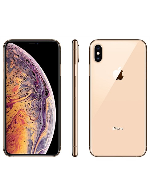 IPHONE XS MAX 64GB - GOLD - MT522X/A $1097 at David Jones