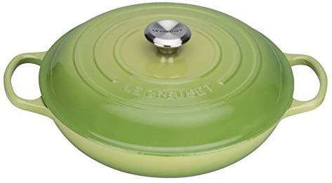 Le Creuset Signature Cast Iron Shallow Casserole, 30 cm, Palm $499.19 was $619 @ Amazon