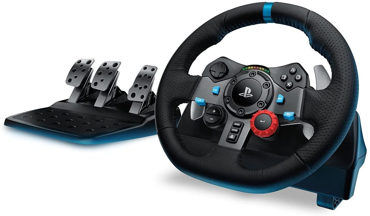 Logitech G29 Driving Force Racing Wheel for PlayStation 4 $425.00 was $499.95 @ Amazon
