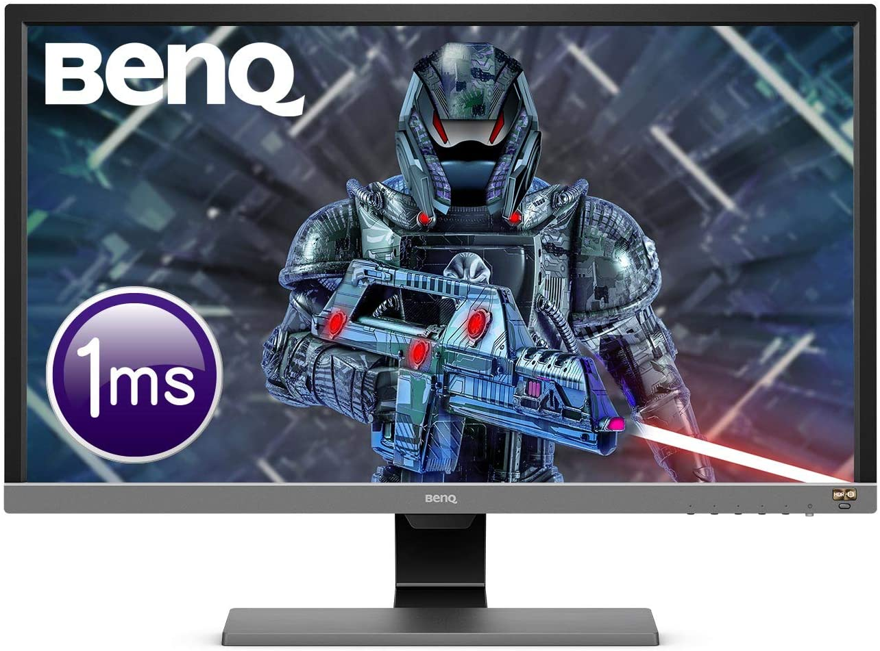 BenQ 28 inch 4K HDR Gaming Monitor, 1ms Response Time, UHD, Free-Sync, Brightness Intelligence Plus, HDMI $440.00 was $549.00 @ Amazon