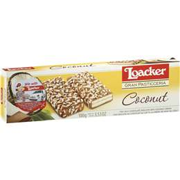 Loacker Wafers Coconut 100g $1.5 WAS $4 @ Woolworths