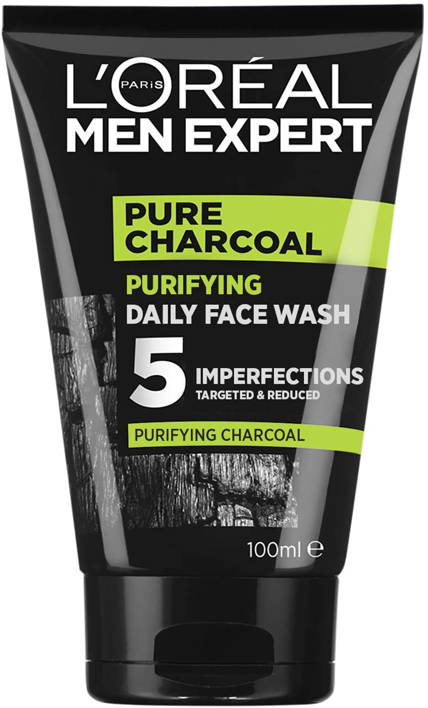 L'Oréal Paris Men Expert Pure Power Charcoal Face Wash For Men 100ml $7.5 WAS $9.95 @ Amazon