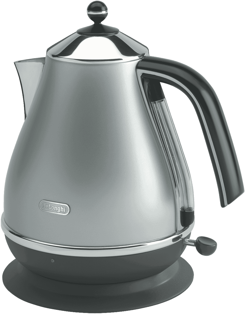 DeLonghi Icona Kettle - Silver 99.00 @ THE GOOD GUYS