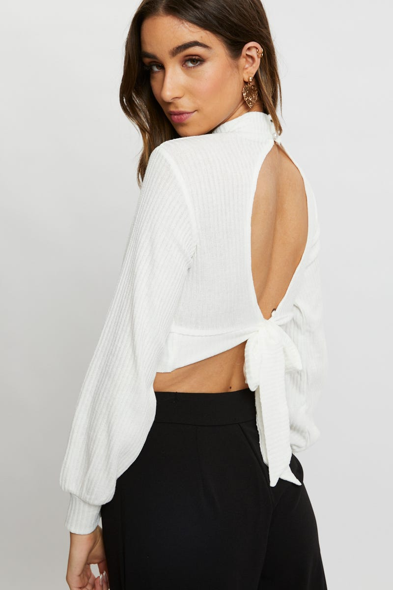 Minx & Moss Keyhole Long Sleeve Top AU $7.99 @ Ally Fashion