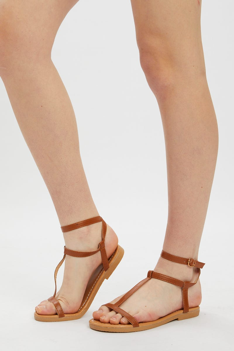 Nyla Rose T Bar Sandal AU $8.99 @ Ally Fashion