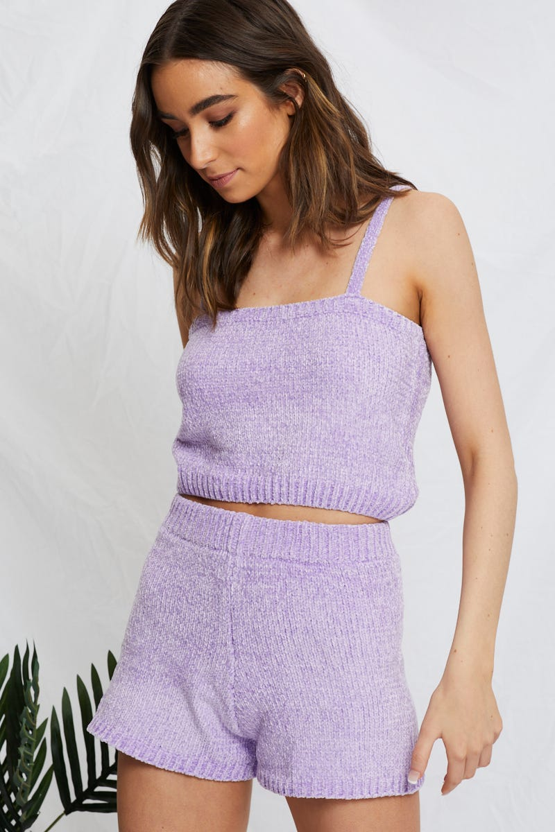 Minx Luxe Chenille Short AU $10.92 @ Ally Fashion