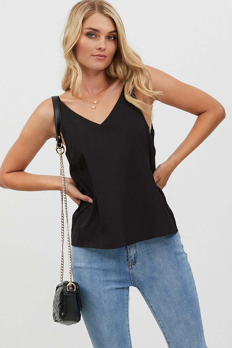Ally Fashion V NECK SWING CAMI AU $3.89 @ Ally Fashion