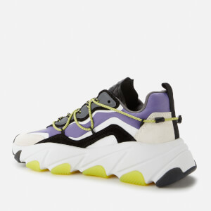 Ash Women's Extra Chunky Trainers - White/Purple $189.00 @ Allsole