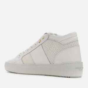 Android Homme Men's Propulsion Mid Geo Raptor Emboss Trainers - Achromatic White $236.25 @ Allsole