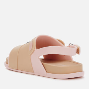 Mini Melissa Toddlers' Beach Slide Bear Sandals - Pink Contrast $42.00 @ Allsole
