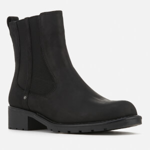Clarks Women's Orinoco Club Leather Chelsea Boots - Black $73.50 @ Allsole