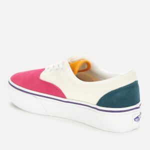 Vans Women's Era Platform Mini Cord Trainers - Multi/True White $57.75 @ Allsole