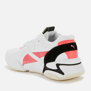 Puma Women's Nova Pop Trainers - Puma White/Bubblegum/Ignite Pink $61.25 @ Allsole