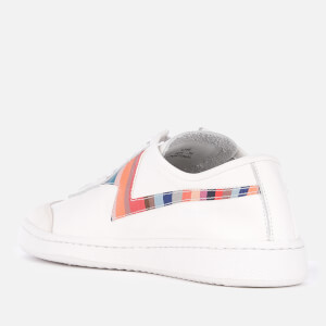 Paul Smith Women's Ziggy Leather Low Top Trainers - White $183.75 @ Allsole
