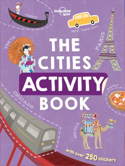 The Cities Activity Book $8.25 @ Angus & Robertson