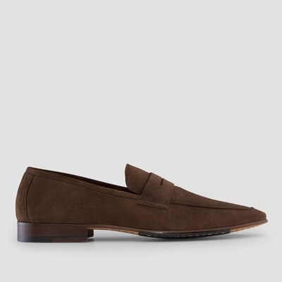 Aquila Manuel Brown Penny Loafers $169.00 @ Aquila
