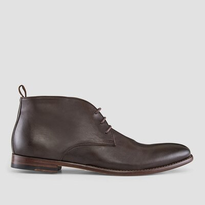 Aquila Delmore Brown Ankle Boots $199.00 @ Aquila