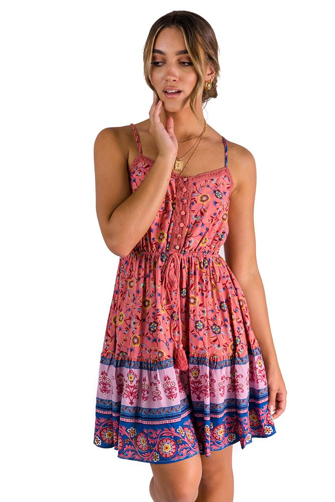 Guess Dress Pink $49.00 @ ark and arrow