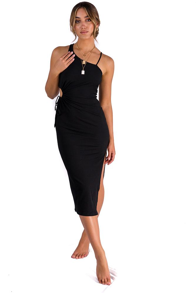 Aleysa Dress Black $49.00 @ ark and arrow
