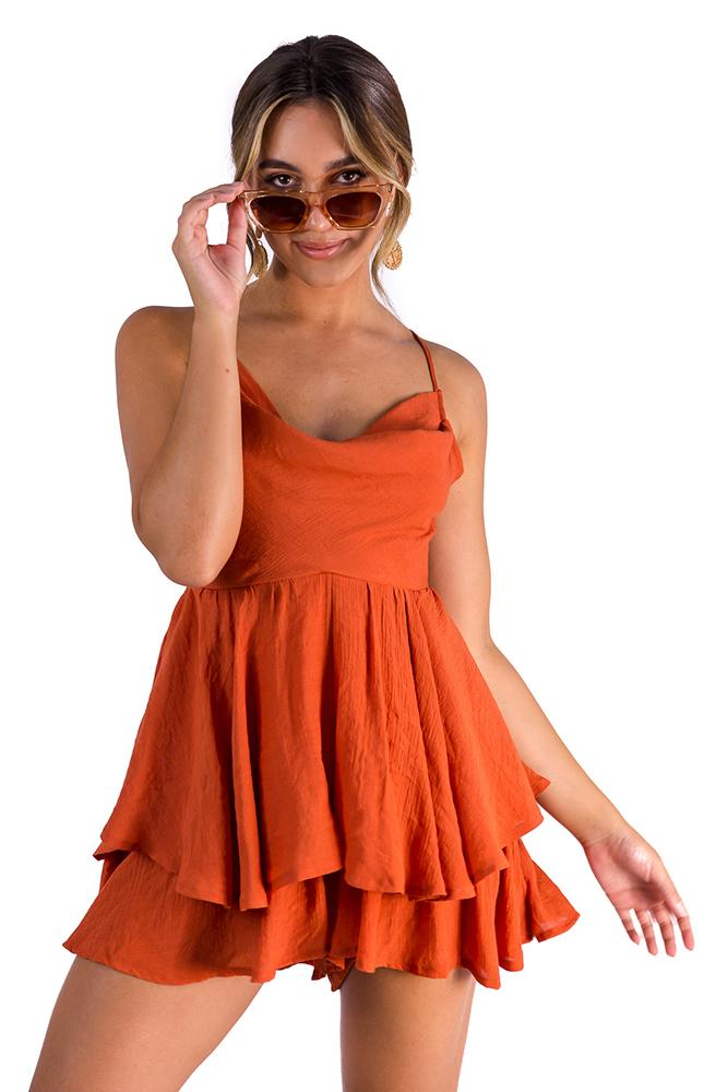 Let It Be playsuit $59.00 @ ark and arrow