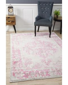 Alexa Transitional Rug Grey Fuchsia 230x160cm $98 @ April & Oak