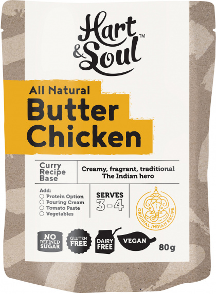 Hart & Soul Butter Chicken Recipe Base $2.25 @ Aussie Health Products