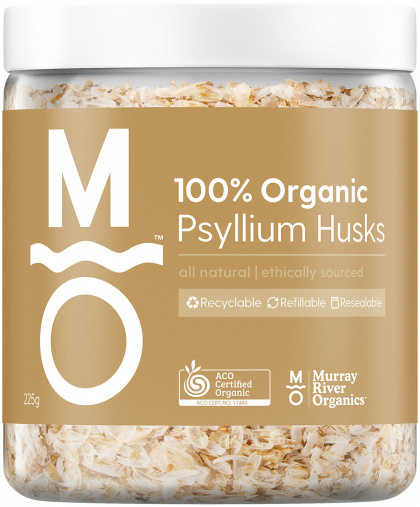 Murray River Organics Organic Psyllium Husks Jar $9.65 @ Aussie Health Products