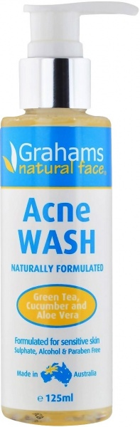 Grahams Acne Wash $11.20 @ Aussie Health Products