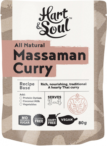 Hart & Soul Massaman Recipe Base $2.25 @ Aussie Health Products