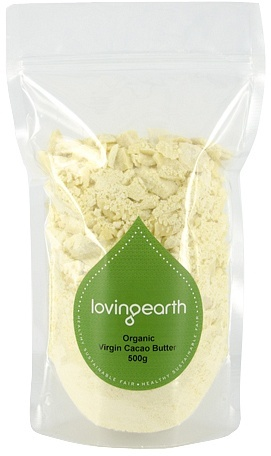 Loving Earth Virgin Cacao Butter $21.95 @ Aussie Health Products