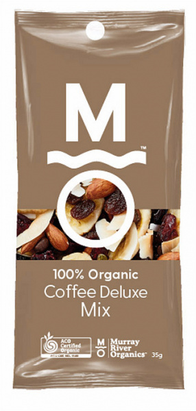 Murray River Organics Organic Coffee Deluxe Trail Mix Shots $31.25 @ Aussie Health Products