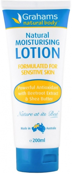 Grahams Natural Moisturising Lotion $12.85 @ Aussie Health Products