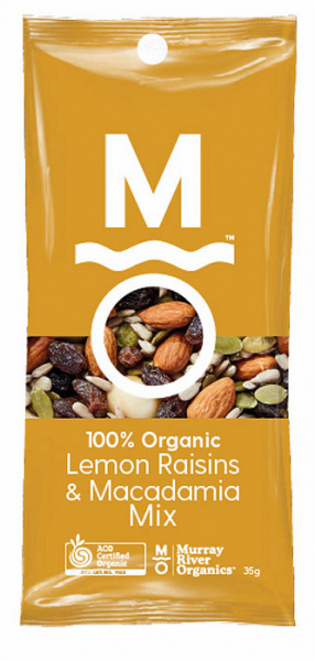 Murray River Organics Organic Lemon Delicious Trail Mix Shots $31.25 @ Aussie Health Products