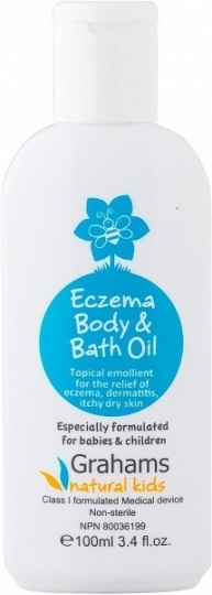 Grahams Natural Skin Body & Bath Oil $13.65 @ Aussie Health Products