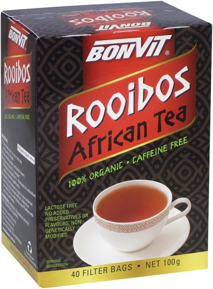 Bonvit Organic Rooibos African Tea bags $8.40 @ Aussie Health Products