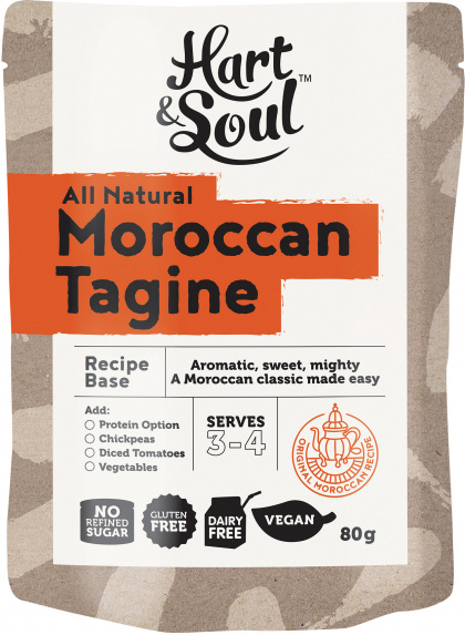 Hart & Soul Moroccan Tagine Recipe Base $2.25 @ Aussie Health Products