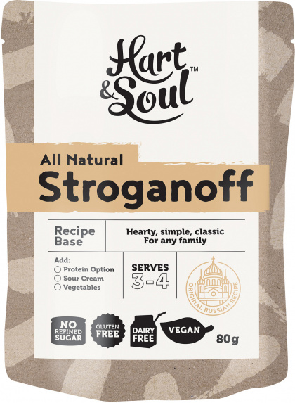 Hart & Soul Beef Stroganoff Recipe Base $2.25 @ Aussie Health Products