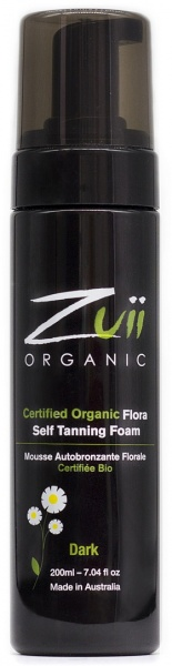 Zuii Organic Cosmetics Organic Self Tan Foam Dark $12.70 @ Aussie Health Products