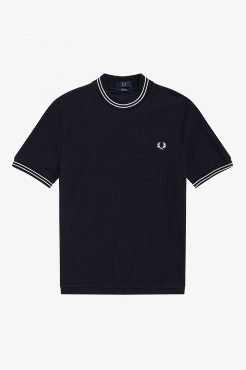 Fred Perry Reissues Crew Neck Rib T-Shirt - Navy A$65.10 @ Atterley