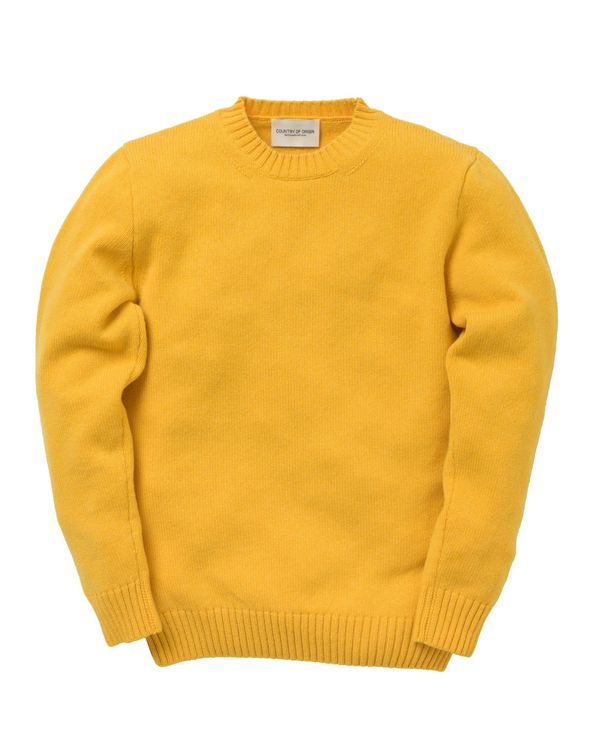 Country of Origin Crew Sweater - Pamplemousse A$106.95 @ Atterley