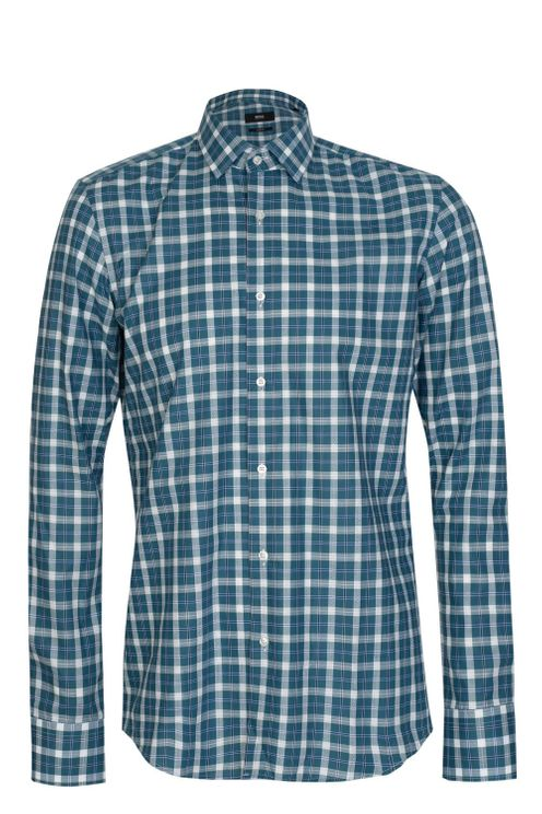 Hugo Boss Jenno Checked Slim Fit Shirt A$120.90 @ Atterley
