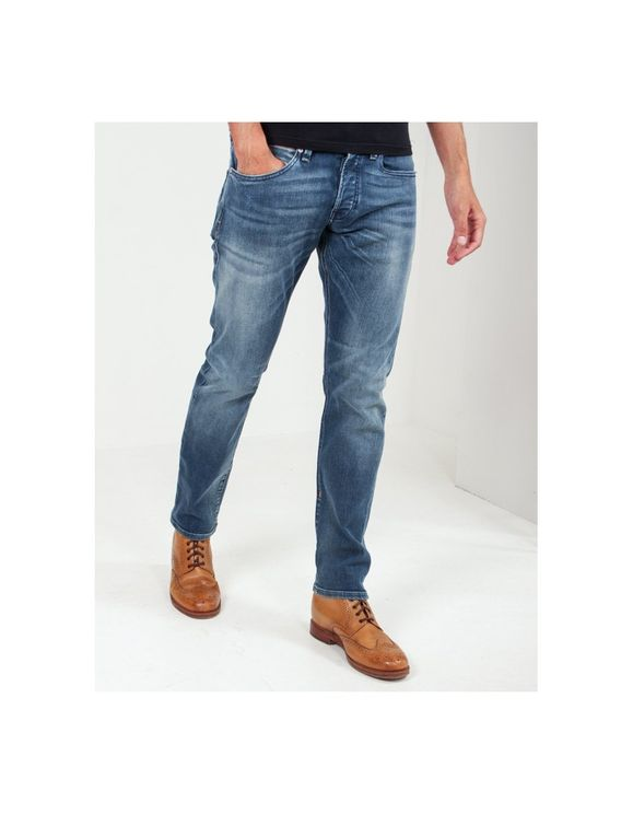 Scotch & Soda Ralston Plus Regular Slim Fit Jean Colour: Mid Blue, A$174.38 @ Atterley
