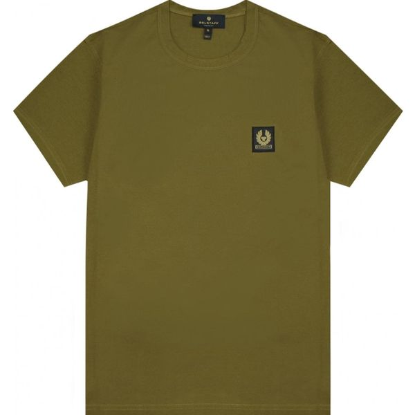 Belstaff Short Sleeve Tee Colour: OLIVE A$76.73 @ Atterley