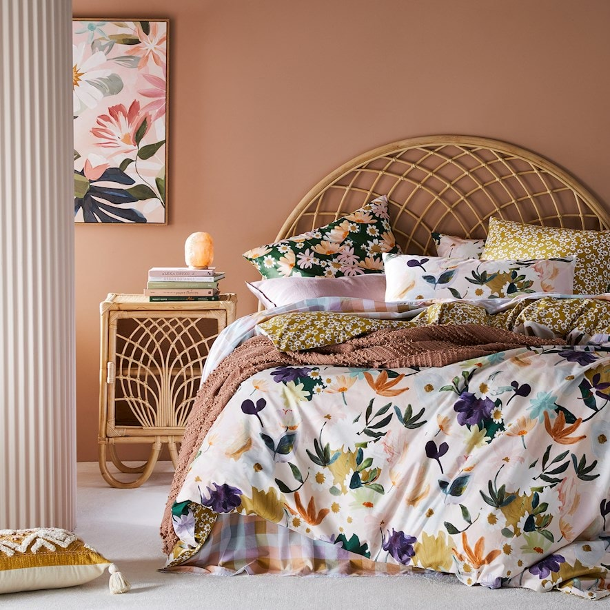 Amber Multi Quilt Cover Set From $151.99 @ Adairs
