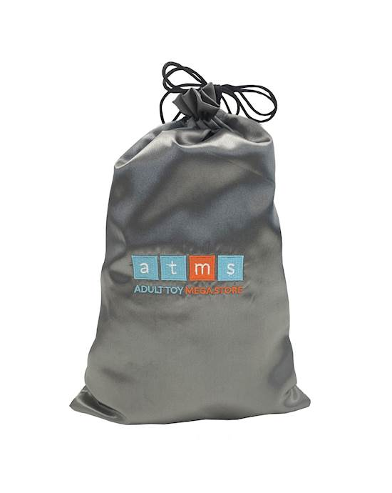 Atms Padded Large Toy Storage Bag - Silver - Large $13.95 @ adult toy mega store
