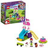 LEGO Friends Puppy Playground 41396 Starter Building Kit; Best Animal Toy Featuring LEGO Friends Character Mia