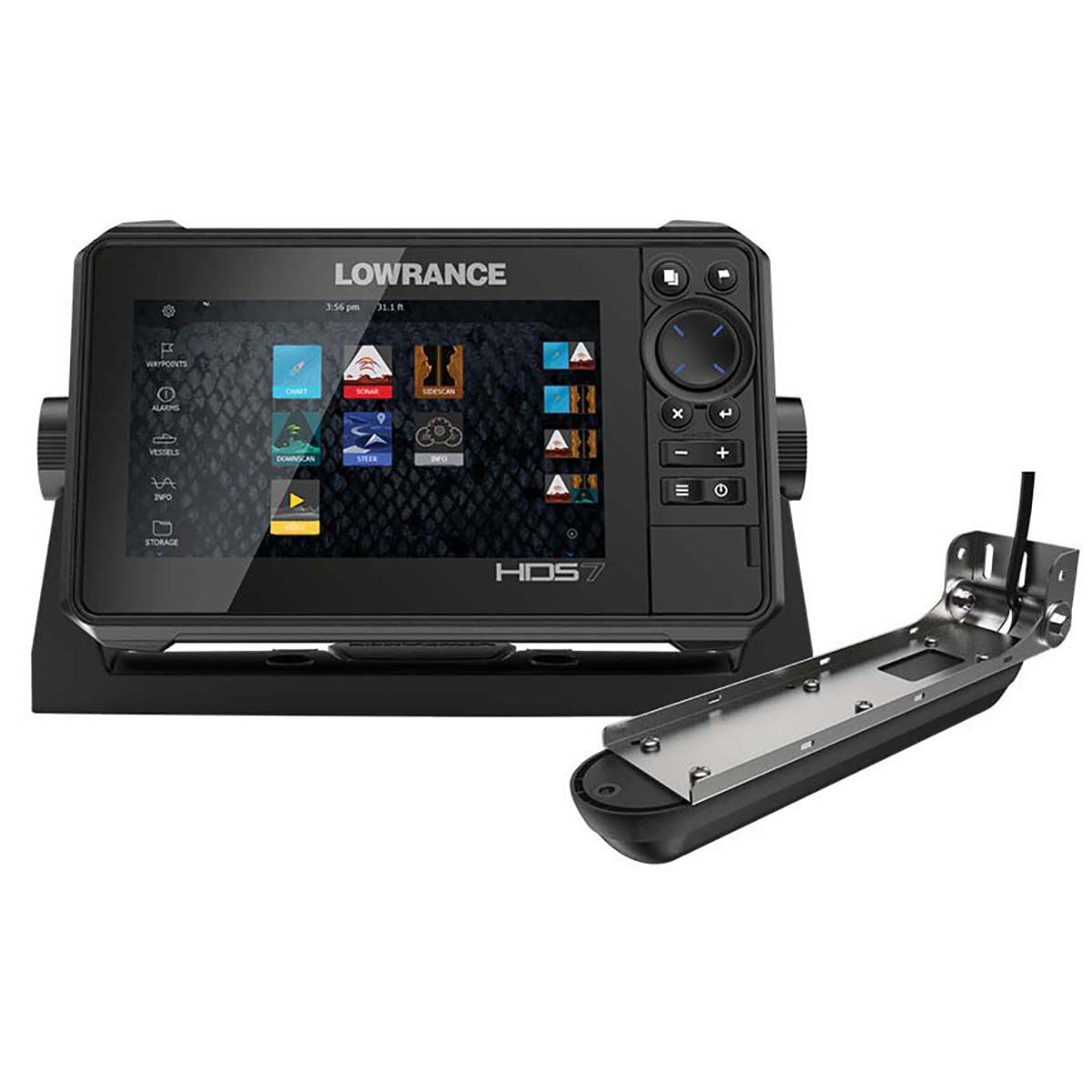 Lowrance HDS-7 Live Combo Including Active Image 3-1 Transducer and CMAP  @ BCF