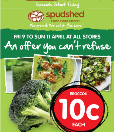 [WA] $0.10 a Head of Broccoli From Fri 9 to Sun 11 @ Spudshed