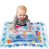 Tummy time Baby Water Play mat for Babies and Toddlers, Inflatable Play mat Toys, Belly Water mats for Baby Sensory Development and Growth Stimulation. Does not Contain BPA.