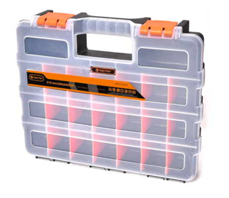 Tactix 310mm 22 Compartment Organiser Storage Box $4.98 @ Bunnings Warehouse